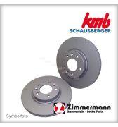 Bremsscheibe hinten NEU, Zimmermann beschichtet, Hyundai Kona (OS) EV, Kia Optima (JF)